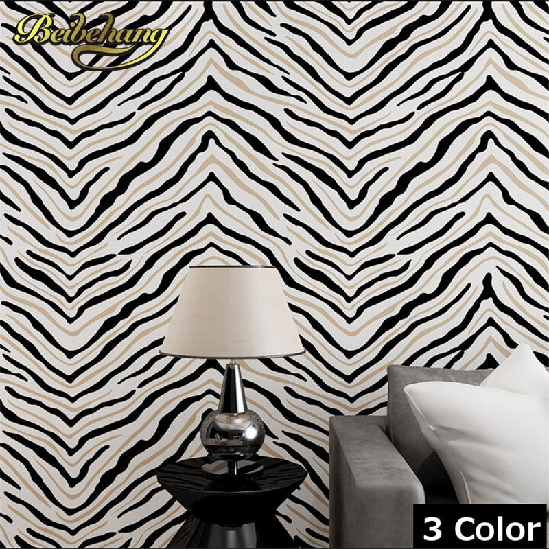 beibehang 3D Solid stripes wallpapers background wall brief flocking embossed wallpaper roll tapete papel de parede for Living r<br>