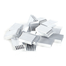 PROMOTION! Hot Sale 30 Pcs Aluminum Heatsink Cooling Fin 20mmx14mmx6mm for Mosfet IC