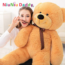 Giant Teddy Bear Plush stuffed toys animals kid dolls with high quality Valentine's Day gift Free shipping(China)