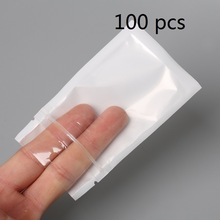 9 Size White/Clear Self Seal Zipper Plastic Retail Packaging Pack Poly Bag Ziplock Zip Lock Storage Bag Package With Hang Hole