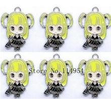Free shipping 20 Pcs Mix Death Note Metal Charms Jewelry Making Pendants Earrings M029(China)