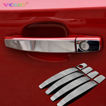 Stainless steel trim DOOR HANDLE Cover Auto accessories For Chevrolet Cruze 2009-2013 For Opel Mokka ASTRA J Insignia