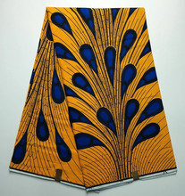 HW6910-1 African Ankara super wax fabric,Hollandais wax fabric for party dresses,Good quality 100% cotton wax  6 yards