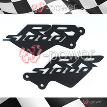 fite For BMW S1000RR 2010 2011 2012 2013 2014 Black Foot Peg Heel Protection Protective Film Motorcycle Accessories