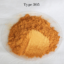Type 305 Gold  Pigment Pearl powder dye ceramic powder paint coating Automotive Coatings art crafts coloring for leather