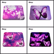 High quality beautiful butterfly 2016 Sale Best Mousepad Silicone Rubber Best Durable Gaming Mat Customized Rectangle pads(China)