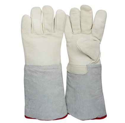 Anti- low temperature of liquid nitrogen ice cold gloves gloves LNG filling cold frost protective gloves<br>
