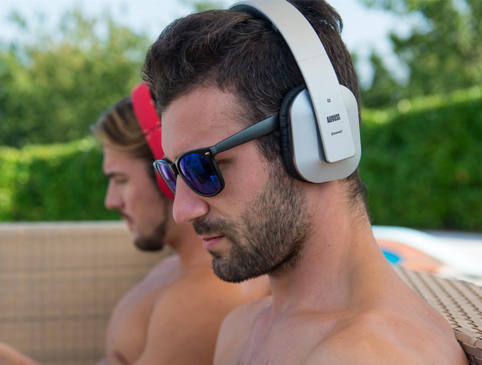 August EP650 Wireless Bluetooth Headphones aptX