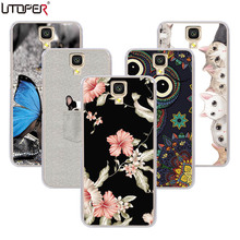 UTOPER Fashion Shell Uhans A101 Case Silicon Soft Protective A101S cover 5.0 inch Shockproof Back Fundas - UTD GROUP store