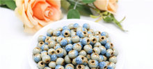 8 mm blue ceramic diy beads national wind restoring ancient ways jewelry accessories TP3135