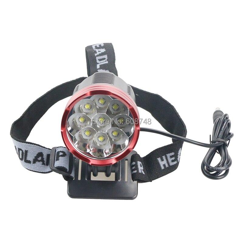 15000 Lumen 9x CREE XM-L2 LED 5Modes Cycling Head Front Bicycle light Bike lamp Headlamp<br><br>Aliexpress