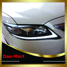 Car Styling DRL Set LED Lightbar Projector Headlight Lamp Turn Light For 2009 2010 2011 For Toyota Camry move light USA Style