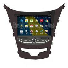 Brand New 7inch Quad Core 16G 1024*600 Android Car PC for Ssangyong Korando 2014 Car DVD Multimedia Player