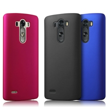 For LG G3 Case Ultra Thin Frosted Matte Hard Back Cover PC Shield Skin Protector Mobile Phone Case For LG G3 D855 D850 D851