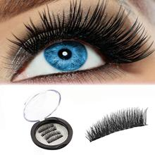 magnetic eyelashes 0.2mm thin False Eyelashes Synthetic Hair magnetic eyelash 3D Reusable extension lashes New 12.15(China)