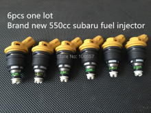 Genuine Jecs for subaru fuel injector high performance 550cc fuel nozzle WRX STI Impreza Legacy Forester Outback 2.0L 2.5L
