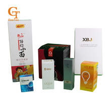 Custom shape, design,logo brand name packaging paper boxes,Cosmetics, gift paper packing box,OEM Professional perfume pack boxes(China)