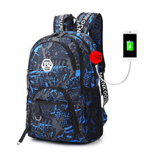 High quality school bags lightweight and durable Large capacity travel backpack for teenage boys girls waterproof book bag