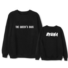 Buy ONGSEONG Kpop HYUNA THE QUEEN'S BACK HYUN Album Hoodie Casual Loose Hoodies Clothes Pullover Long Sleeve Sweatshirts WY629 for $13.29 in AliExpress store