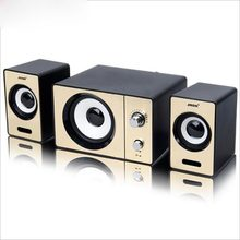 2016 New SADA S-20D laptop computer audio speakers, AUX input multimedia mini portable small 2.1 subwoofer, USB powered