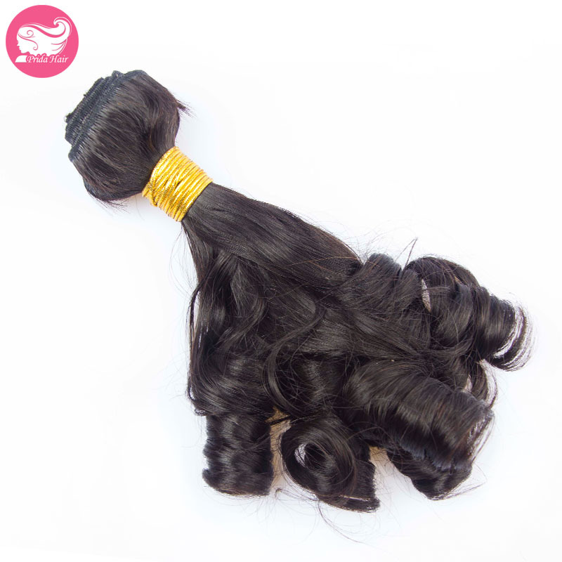 1Pc Indian Funmi virgin Hair Bundle Romance Curl 8-28Inch Bouncy Curl Human Hair Weave 7A Unprocessed Spiral Curl Hair Extension<br><br>Aliexpress