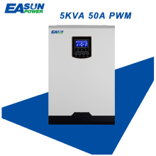 EASUN POWER Solar Inverter 4000W 50A PWM Off Grid Inverter 5Kva Pure Sine Wave Inverter 48V to 220V Inverters 60A AC Charger(China)