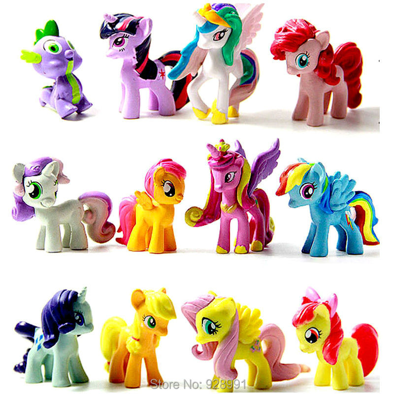Plastic Horse Toy Rainbow Dash Filly Princess Celestia Cheap Action Figures Anime Figure Kids Toys For Boys Girls<br><br>Aliexpress