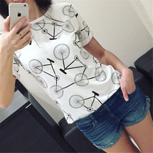 2017 Hot Sale Fashion Sexy Harajuku Style T Shirts Big Yards Women Wear Short Sleeve Casual T-Shirt Blusas Femininas plus size(China)