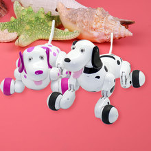 Intelligent Wireless Remote Control Robot Kids Interactive Dancing Walking Dog(China)