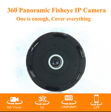 2MP V380 HD 1920*1080P VR WIFI IP Camera,Support SD TF Card,P2P Alarm Motion Detect,Two-Way Audio IR 360 Degree IP CAM WI-FI