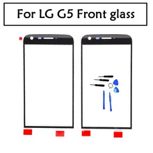 Black original New Replacement LCD Front Touch Screen Panel Outer Glass Lens For LG G5 H850 H840 H860 RS988 tools free shipping(China)
