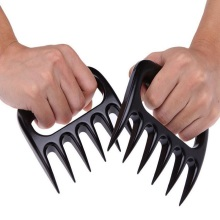 1 PC Special BBQ Bear Paws Claws Meat Handler Fork Tongs Pull Shred Pork BBQ Shredder Kitchen Cooking Tools   VHE76 P15