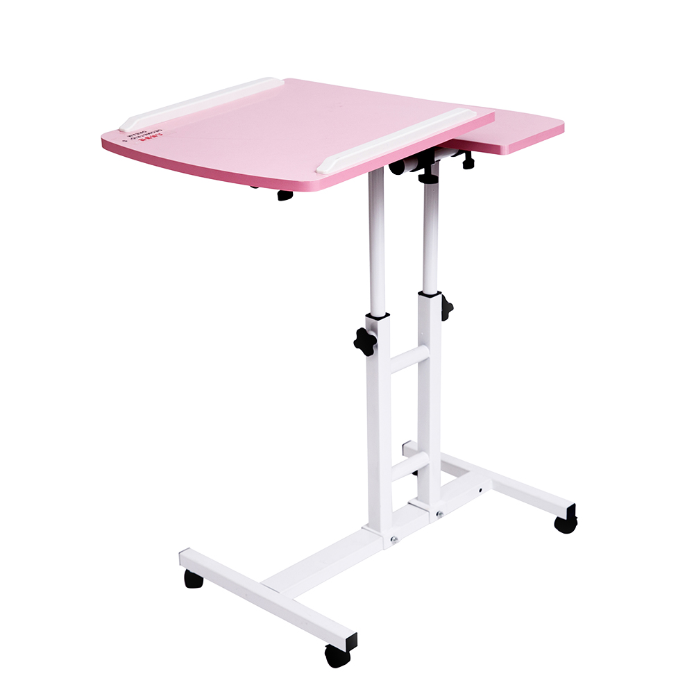 2018  Foldable Computer Table  64*40CM Adjustable Portable Laptop Desk Rotate Laptop Bed Table Can be Lifted Standing Desk (China)