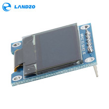 Electronic kit Circuit Board 0.96 Inch SPI OLED Display Module 12864 LED For Arduino 2.7 x 2.8cm Resolution 128 x 64(China)