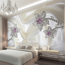 wallpapers home decor Photo background wall paper living room Photography Diamond Hotel bathroom large wall art mural painting