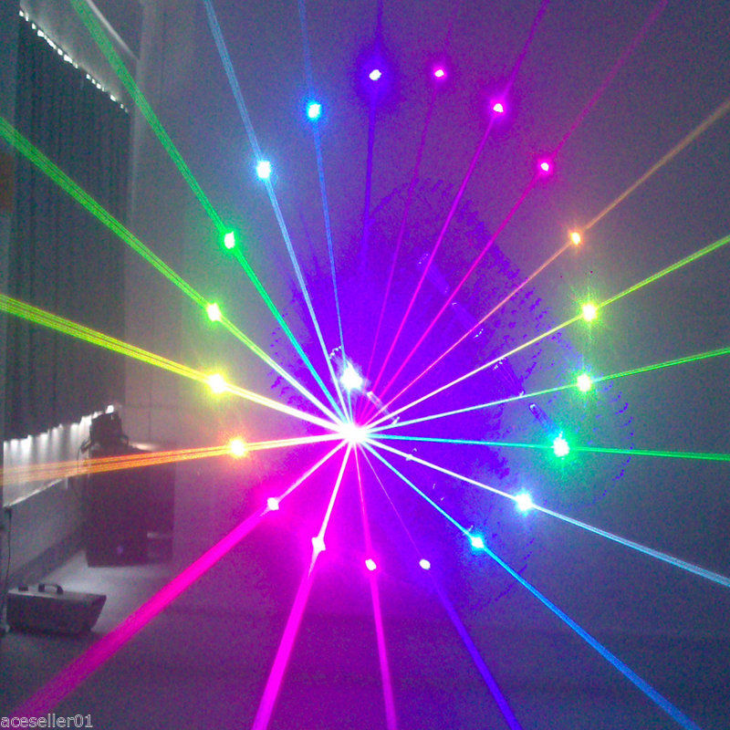 1.5W Laser Light Show Projector 3D Full Color Lasers ILDA theatrical concert DJ (8)
