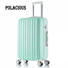 "20 inch New surface like sandpaper stripes trolley suitcase/ 20"" boarding luggage/10Colors universal wheels trolley candy"
