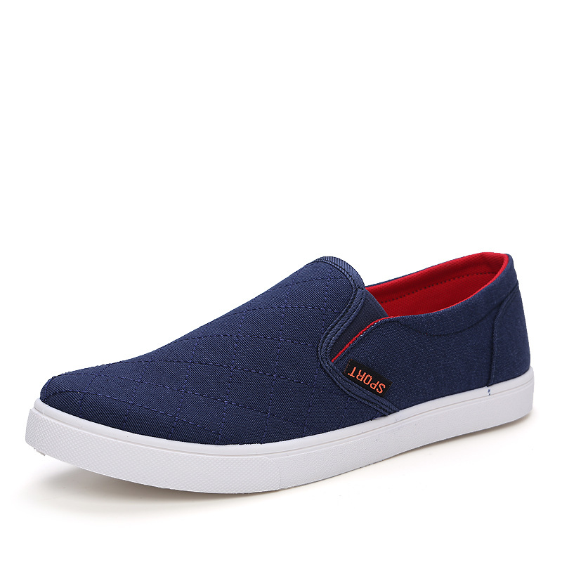 2017 Men Shoes Casual Shoes The New Lazy Shoes Old Beijing Duck Round Head Foot Leisure Mens Shoes Breathable Cotton<br><br>Aliexpress