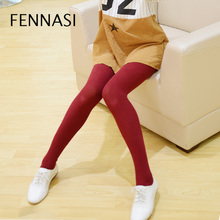 Buy FENNASI Women's Warm Winter Tights High Waist Thick Stirrup Sexy Pantyhose Women Lingerie Compression Solid Cotton Pantyhose