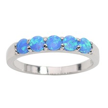 JZ0065 Simple Fashion Hot Sale Fire Opal Rings Top Quality 925 Sterling Silver Jewelry Ring for Women & Man Wholesale Jewelry(China)