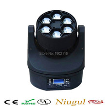 6X15W Bee Eye beam  RGBW 4in1 LED Beam Moving Head light DMX Stage Effect Lighting For Party Disco DJ Stage Lights LED wash Lamp