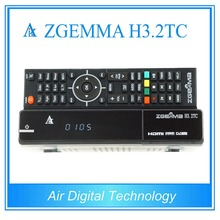 20 pcs zgemma h3.2tc 2017 new tv box twin cable/terrestrial + satellite tv receiver DVB S2 + 2 * DVB C/T2