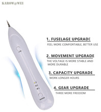 Laser Freckle Removal Machine Skin Mole Removal Dark Spot Remover for Face Wart Tag Tattoo Removal Pen Salon Beauty