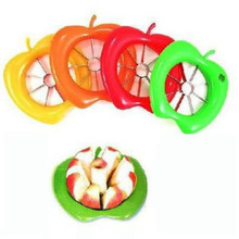 Multifunction Creative Novelty Kitchen Cooking Vegetable Fruit Tools Stainless Steel Orange Cutter Apple Pear Slicer Knife(China)