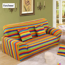 Elastic Sofa Cover Tight Wrap All-inclusive I shaped Sofa Cover Sofa Slipcover Cheap Stretch Furniture Covers 1/2/3/4 seater 1PC