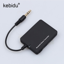 Kebidu 3.5mm Bluetooth Stereo Transmitter Bluetooth Dongle Adapter A2DP Music Audio Transmitter for for iPod TV Mp3 Mp4 PC(China)