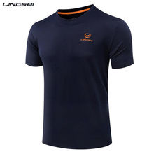 Mens Tennis shirts Outdoor sports t-shirt O-neck Quick Dry Breathable Running badminton Short-sleeve tops for men tee shirt