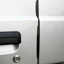 8PCS/Set universal Car Door Edge Guards Trim Molding Protection Strip Scratch Protector Dropshipping free shipping(China)