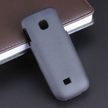 Black Gel TPU Slim Soft Anti Skiding Case Back Cover for Nokia C2-01 C2 C201 2700 2730 Mobile Phone Rubber silicone Bag