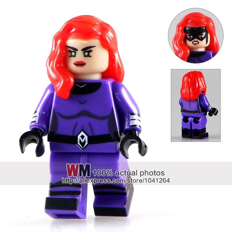 Black Bolt Custom Minifigure LEGO Compatible Inhumans Minifigures